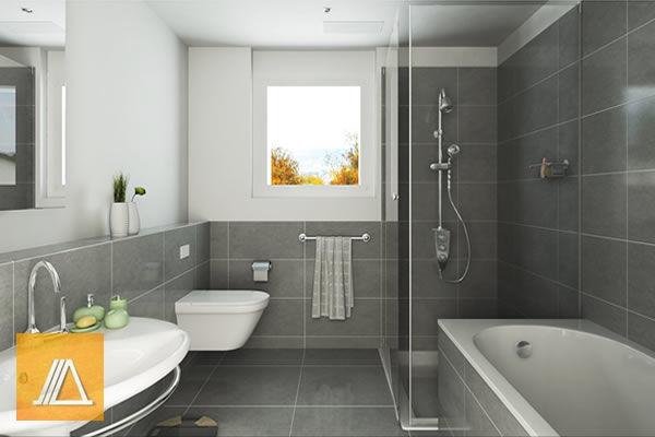 Две мокрые в ванной — photo 1